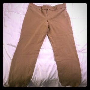 Banana republic Sloan khaki ankle pants